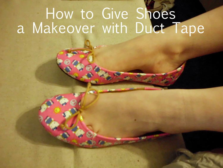 How to Give Shoes a Makeover with Duct Tape SANY0608 copy
