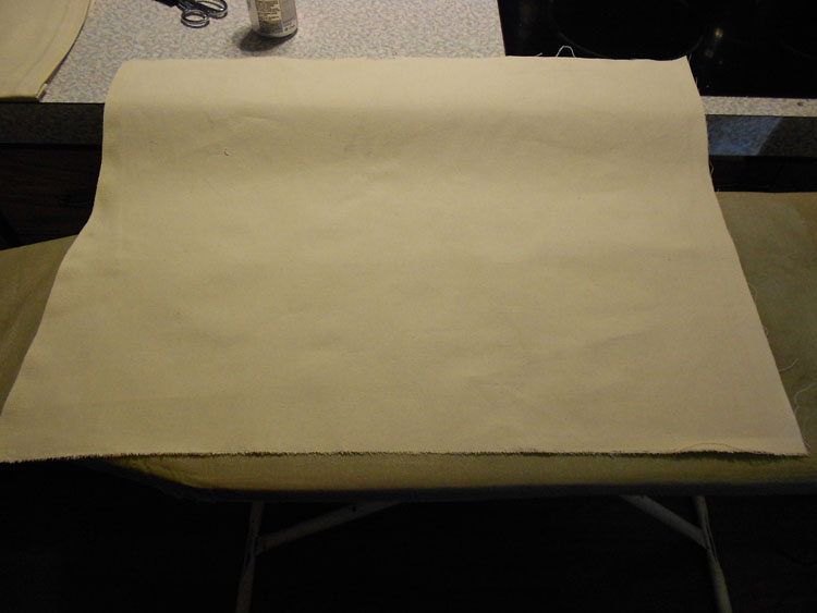 How to Make a Canvas Floor Cloth DSCN0223