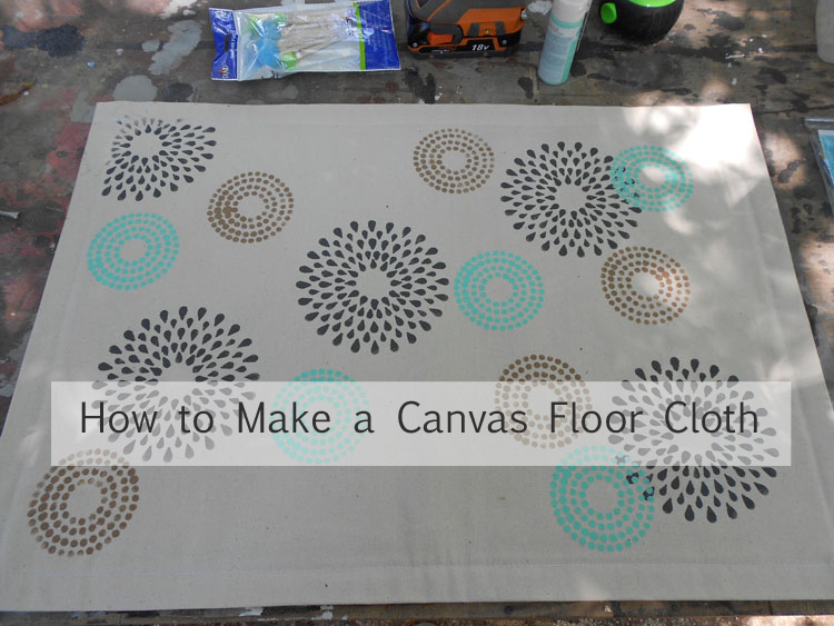 How to Make a Canvas Floor Cloth DSCN0234 copy