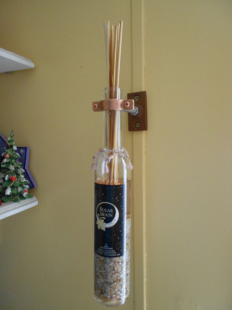 How to Make a Fragrance Diffuser with a Wine Bottle DSCN0613