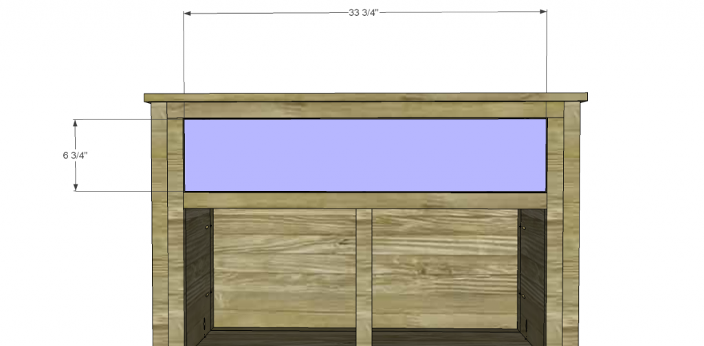 Free Plans to Build a TCD Sheffield Cabinet Knock-Off Drawer Front