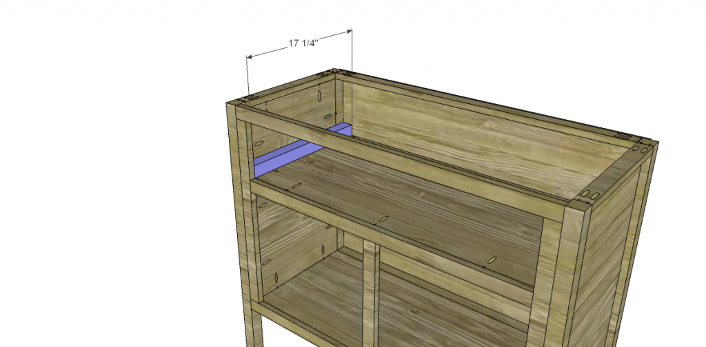 Free Plans to Build a TCD Sheffield Cabinet Knock-Off Drawer Spacer