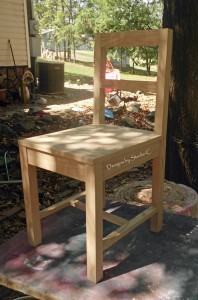 Free Furniture Plans to Build a Desk Chair 1