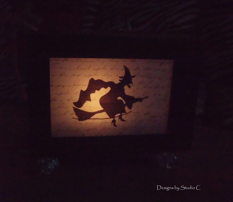 How to Make a Spooky Witch Lantern SANY1421