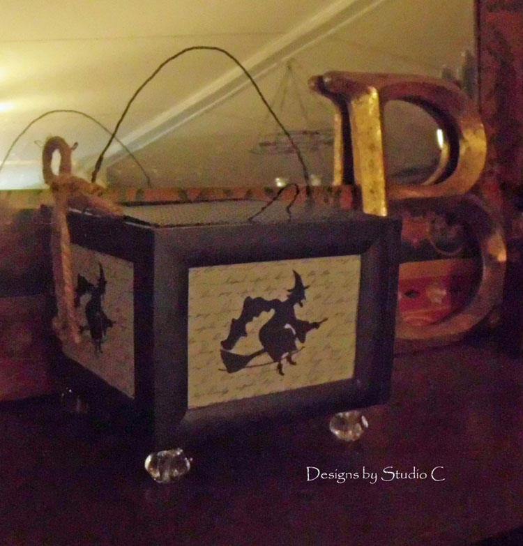 How to Make a Spooky Witch Lantern SANY1424