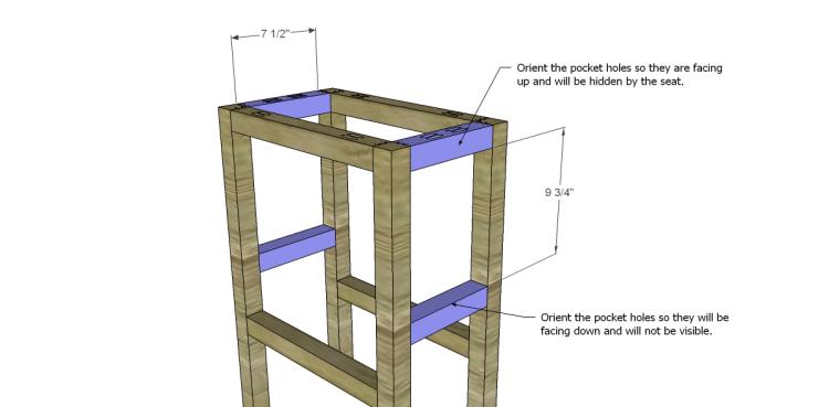 Blueprints For A Bar Stool