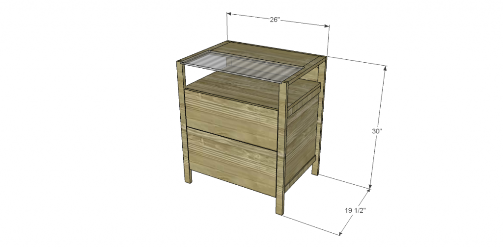 Free Plans To Build The Crate Amp Barrel Inspired Brey File
