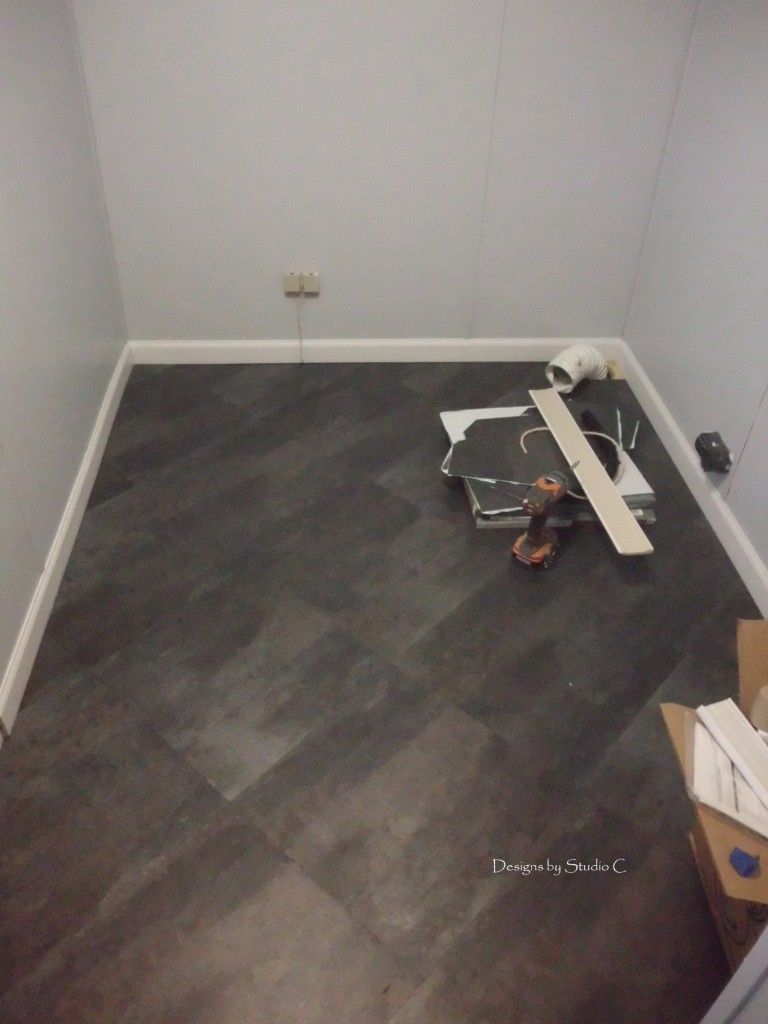 Laundry Room Makeover How To Repair A Floor And Lay New