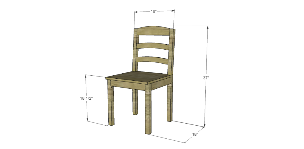 simple wooden chair plans11 simple