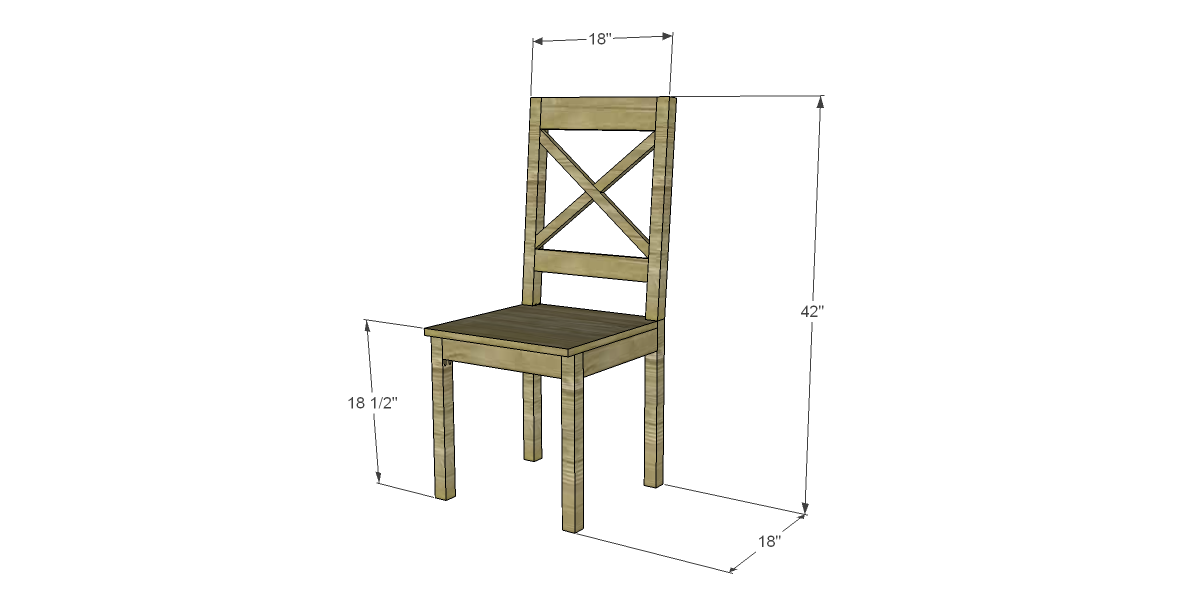 Free Plans to Build a Dining Chair (#2) |
