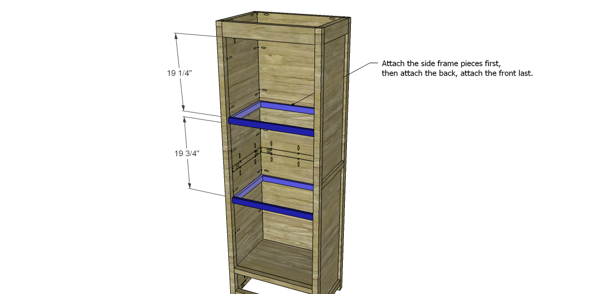 Free Plans to Build a Farmhouse Cabinet |