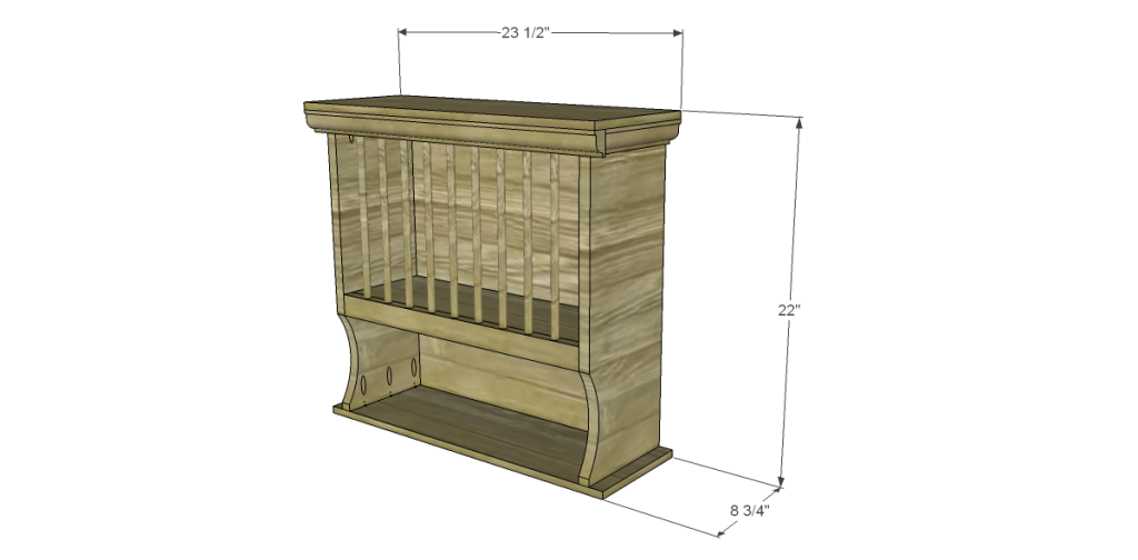 Free Plans To Build A Joss Amp Main Inspired Edison Cabinet