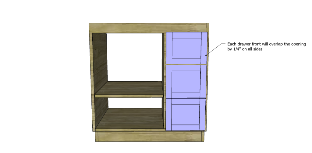 diy woodworking plans to build a custom bath vanity drawer fronts 2