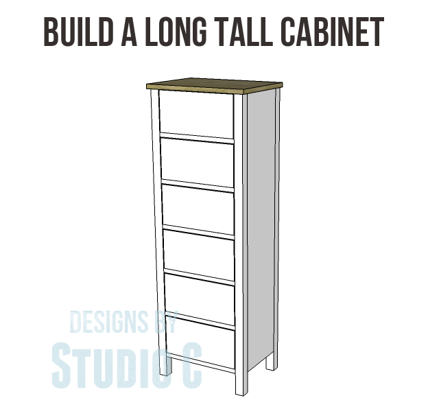 Build A Long Tall Cabinet