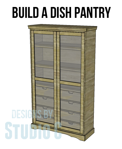 Free Standing Diy Pantry Armoire Plans