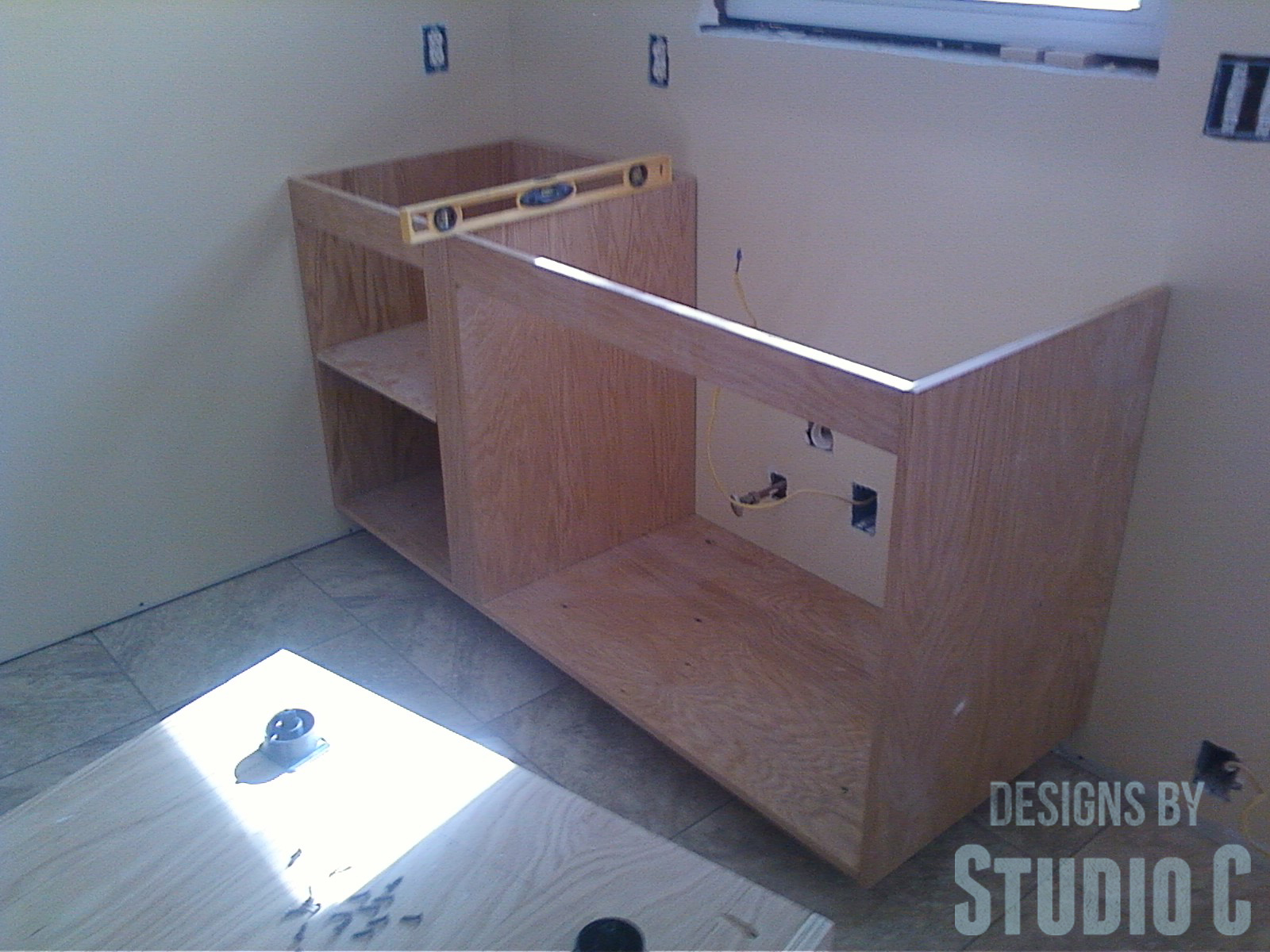 Installing Cabinets In The Kitchen