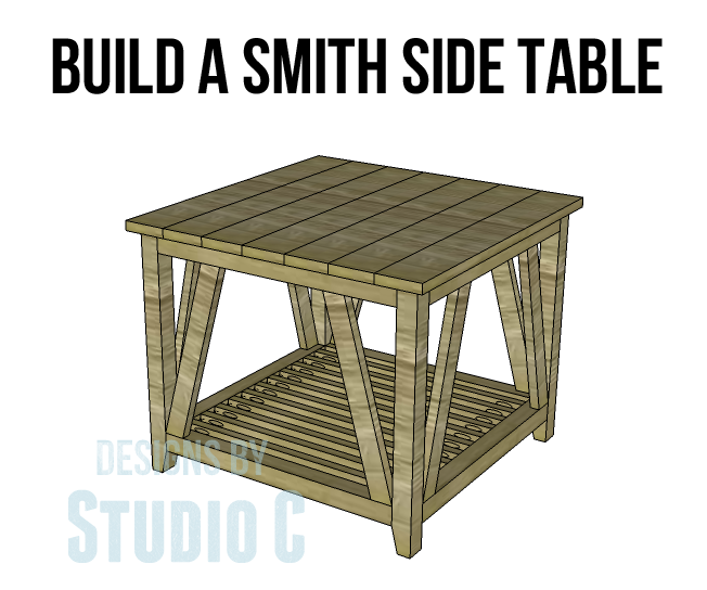Use These Simple End Table Plans to Build a Fantastic Piece of ...