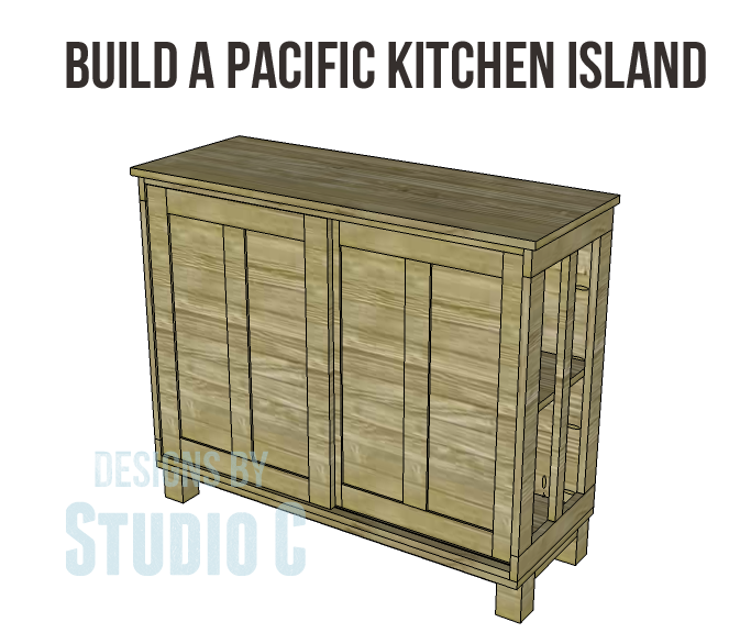 free furniture plans build pacific kitchen island copy