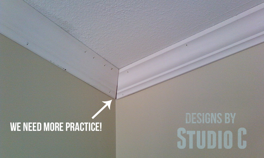 As with any crown molding cutting how to there is a bit of practice