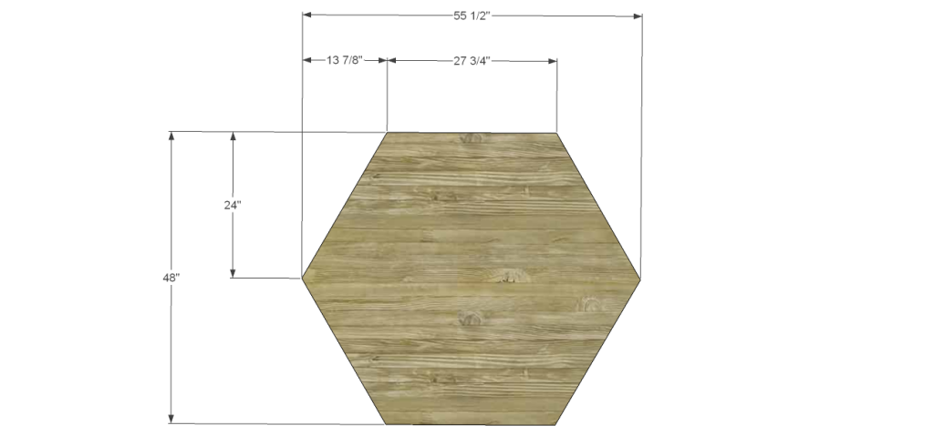 Image Hexagon Dining Table Plans Download