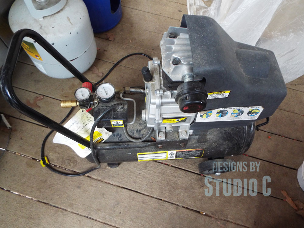 how to replace the cord on a power tool-compressor