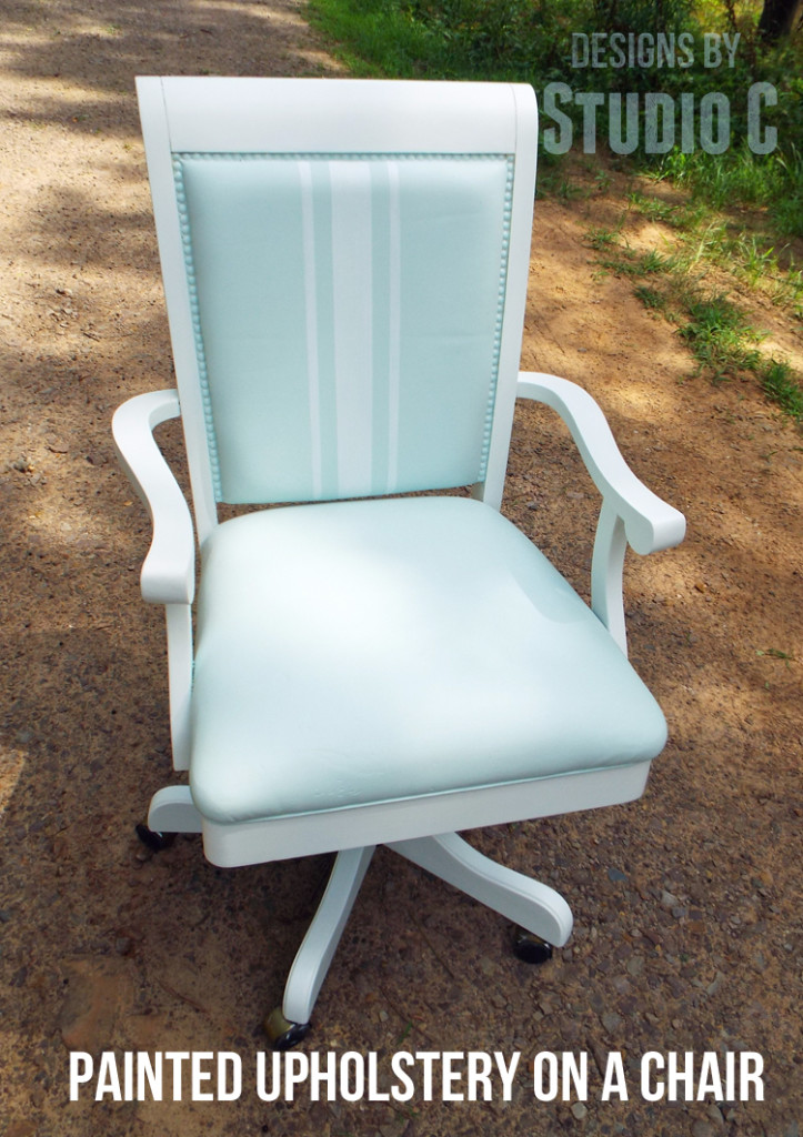 An Easy Makeover For An Old Office Chair