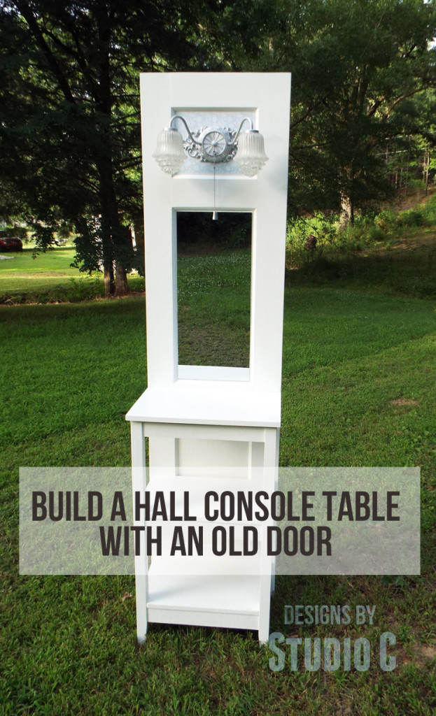 Upcycle An Old Door Into A Stunning Table