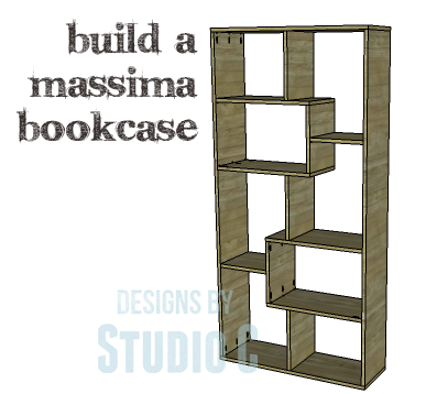 Diy plans to build a massima bookcase - Modern bookshelf plans ...