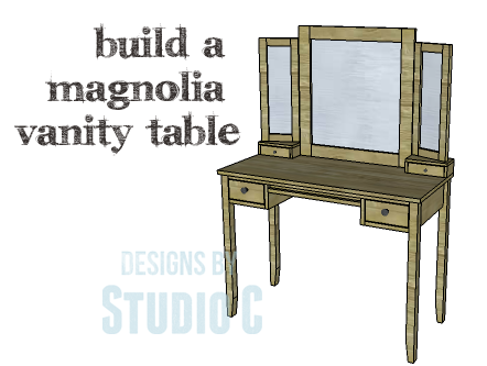 A Beautiful Vanity Table Perfect In Any Room Designs By Studio C