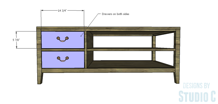 Diy plans to build a drew cocktail table for Diy cocktail table
