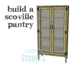 An Easy to Build Pantry with Tons of Storage