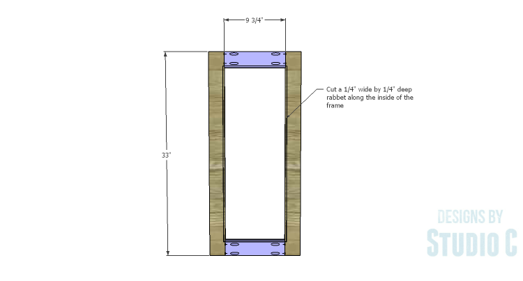 DIY Plans to Build a Hanson Media Console_Outer Doors 1