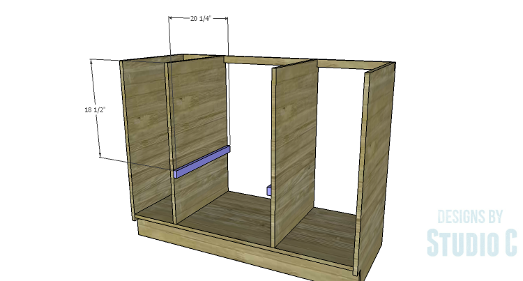 Diy Plans To Build A Bath Vanity With A Built In Clothes Hamper Shelf Supports