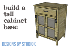 A Tall Cabinet with Hutch, Part One