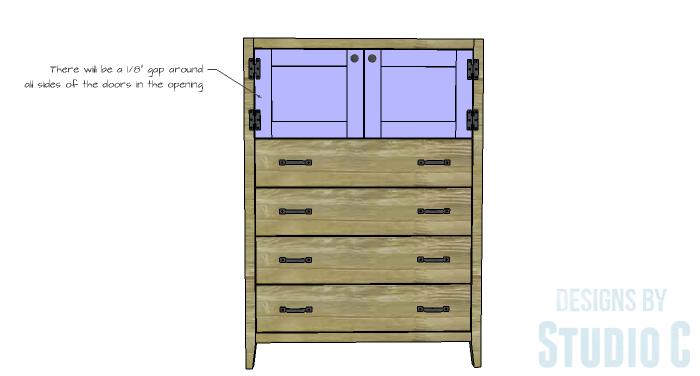 DIY Plans to Build a Braylon Chest-Doors 2