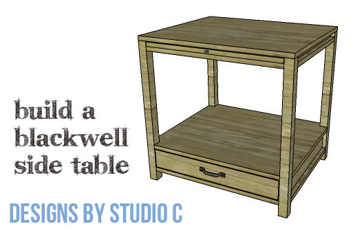 Diy Furniture Plans To Build A Blackwell Side Table Copy