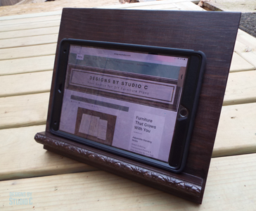 Diy Furniture Plans To Build A Tablet Stand